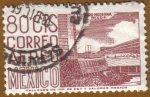 Stamps of the world : Mexico :  MEXICO DF - Arquitectura Moderna