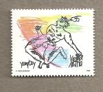 Stamps Austria -  Young boy Viena