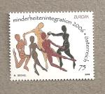 Stamps Austria -  Integración de las minorías