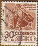 Stamps Mexico -  MICHOUCAN - Danza de los Moros
