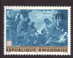 Stamps Africa - Rwanda -  job visitado por sus amigos