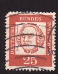 Stamps Germany -  baltasar neumann