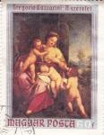 Stamps Hungary -  Gregorio Lazzarini -Aszaretet