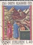 Sellos de Europa - Italia -  1265-Dante Alighieri-1321