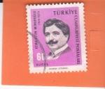 Stamps Turkey -  Kemalettin Mimaroglu 1870-1927