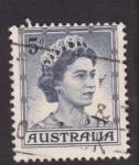 Stamps Australia -  Reinado de Isabel II