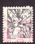 Stamps America - Brazil -  bananeiro