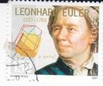 Stamps Switzerland -  Leonhar Euler- Matemático (1707-1783)