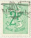 Stamps Belgium -  HERALDICO LEON