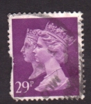 Stamps United Kingdom -  Reina Victoria e Isabel