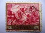 Sellos de Europa - España -  Día del Sello.-Y  AÚN  DICEN...,-Pintor:Joaquín Soralla. Ed:1572