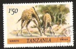 Stamps Tanzania -  GIRAFFE
