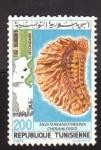 Stamps Africa - Tunisia -  Fosil