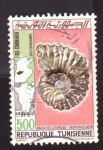 Stamps Africa - Tunisia -  fosil