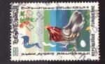 Stamps Tunisia -  alegoría