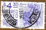 Stamps Mexico -  OAXACA - Danza de la Pluma