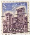 Stamps Spain -  2527.- Paisajes y monumentos.