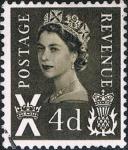 Sellos de Europa - Reino Unido -  EMISIONES REGIONALES 1968-71. ESCOCIA. Y&T Nº 522