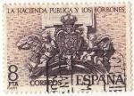 Sellos de Europa - España -  2573.- La Hacienda Publica y los Borbones.