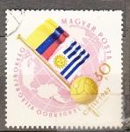 Sellos del Mundo : Europa : Hungría :  Futbol Chile 1962