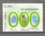 Sellos del Mundo : Europa : España : No contaminar (700)