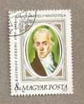 Sellos de Europa - Hungría -  159 Aniv de la muerte de F. Kazinczy