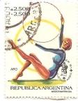 Stamps : America : Argentina :  Aro