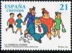 Sellos de Europa - España -  3486- Cómics. Personajes de tebeo. La familia Ulises.