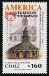 Stamps Chile -  CHILE - Iglesias de Chiloé