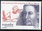 Sellos de Europa - España -  3507-  Efemérides. 600º  Aniversario del nacimiento de Ausias March.