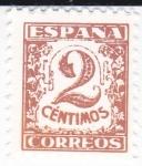 Sellos de Europa - España -  JUNTA DE DEFENSA NACIONAL - Cifras     (I)