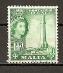 Sellos del Mundo : Europa : Malta : Elizabeth II.