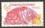 Stamps Czechoslovakia -  2124 - Satélite Oriol