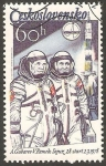 Stamps : Europe : Czechoslovakia :  2318 - Goubarev y Remek