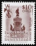 Stamps Chile -  Chile - Casco Histórico de la Ciudad Puerto de Valparaíso