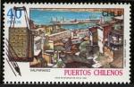 Stamps Chile -  CHILE -  Barrio histórico de la ciudad portuaria de Valparaíso