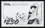Stamps Chile -  CHILE - Parque nacional de Rapa Nui