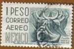 Sellos de America - México -  PUEBLA - Danza de la Media Luna