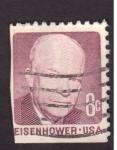 Stamps United States -  eisenhower
