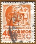 Sellos de America - México -  TABLACO - Arqueologia