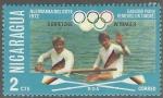 Stamps Nicaragua -  JUEGOS OLIMPICOS DE MUNICH 1972