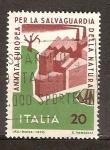 Sellos de Europa - Italia -  Año para la Protección de la Naturaleza.