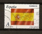 Stamps Europe - Spain -  Bandera de España.