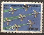 Sellos del Mundo : Europa : Italia : Aniv 50 años de la Aviación Militar.