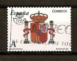 Stamps Spain -  Escudo de España.