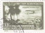 Sellos de Europa - España -  Pro Unión Iberoamericana- Teodoro Fels, Primera travesía de Río de la Plata    (I)