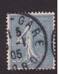 Stamps France -  Sembradora