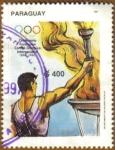 Stamps Paraguay -  Centenario Comite Olimpico