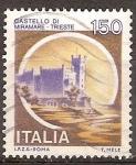 Sellos de Europa - Italia -  Castillo Miramare-Trieste.