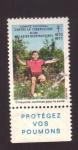 Stamps of the world : France :  Contra la tuberculosis y el asma